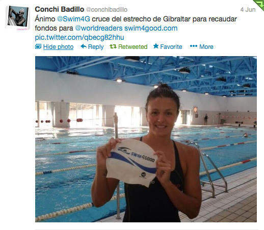 Conchi Badillo and Swim4Good