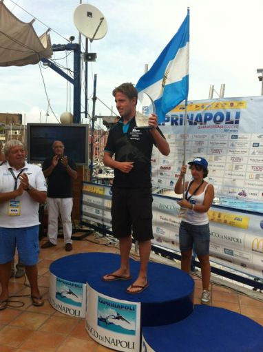 Damian Blaum World Champion FINA 2013