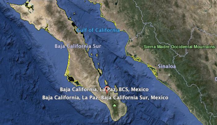 Baja California, Sea of Cortés