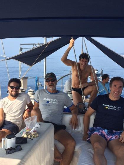 Christian, Guillermo, Esteban, Jordi